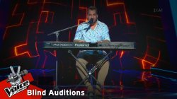 Δημήτρης Κίκλης - La Foule | 4o Blind Audition | The Voice of Greece