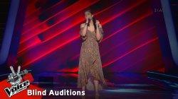 Κέλλυ Μιχαηλίδου - Dancing On My Own | 4o Blind Audition | The Voice of Greece