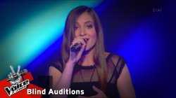 Νάντια Ιαρατζούλι - Lovely | 5o Blind Audition