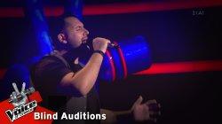 Βασίλης Πρίτσης - Η νύχτα δυο κομμάτια | 4o Blind Audition | The Voice of Greece