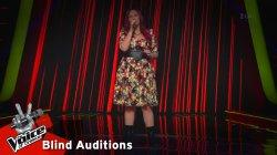 Άννα Σαράντη - Από έρωτα | 4o Blind Audition | The Voice of Greece