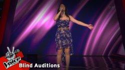 Παναγιώτα Βεργίδου - Ταξίδι στη Βροχή | 4o Blind Audition | The Voice of Greece