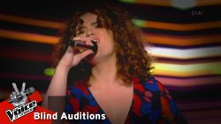 Αθηνά Βέρμη - Να ζήσω ή να πεθάνω (Flamenco) | 6o Blind Audition | The Voice of Greece