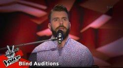 Χάρης Λουκαΐδης - Έλεγες | 7o Blind Audition | The Voice of Greece