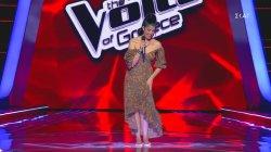 Ξυπόλητη τραγούδησε η Κέλλυ Μιχαηλίδου