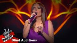 Κλεονίκη Χρυσανθακοπούλου - Στο 'πα και στο ξαναλέω | 4o Blind Audition | The Voice of Greece