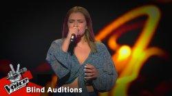 Φωτεινή Ανδρουλιδάκη - Χρυσό Φτερό | 10o Blind Audition | The Voice of Greece