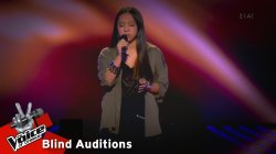Κίρστεν Αράντα - Hallelujah | 10o Blind Audition | The Voice of Greece