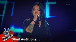 Δέσποινα Δημητρίου - Damn your eyes | 9o Blind Audition | The Voice of Greece