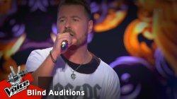 Φώτης Διπλάρης  - Fly away | 9o Blind Audition | The Voice of Greece