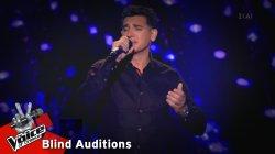 Αντώνης Φαρής - Ένα γράμμα | 12o Blind Audition | The Voice of Greece