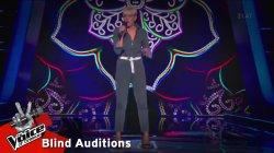 Αλεξάνδρα Γκουντιού - Hit the Road Jack | 8o Blind Audition | The Voice of Greece