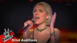Ιωάννα Γεωργακοπούλου - It's a man's man's man's world | 9o Blind Audition | The Voice of Greece