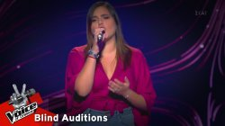 Αλίσια Καλαφατά - Anyone | 12o Blind Audition | The Voice of Greece