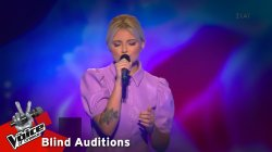 Κέλλυ Κατσούλη - I Love You | 10o Blind Audition | The Voice of Greece