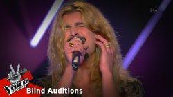 Κωνσταντίνος Κρομμύδας - Creep | 9o Blind Audition | The Voice of Greece