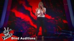 Ευγενία Λιακοπούλου - Στα `δωσα όλα | 12o Blind Audition | The Voice of Greece