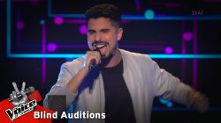 Σταμάτης Λύκος - Counting stars | 11o Blind Audition | The Voice of Greece