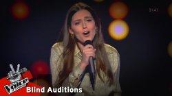 Γεωργία Μανή - Ζητάτε να σας πω | 10o Blind Audition | The Voice of Greece