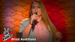 Κατερίνα Μαντζιαρόγλου - Δεμένη | 10o Blind Audition | The Voice of Greece
