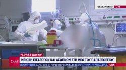 «Αχτίδα φωτός»: Μείωση εισαγωγών και ασθενών στη ΜΕΘ Παπαγεωργίου