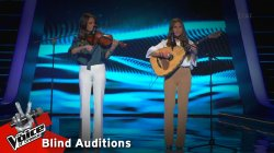 Μαίρη & Σοφία Κιοσκέρογλου - Ντάρι ντάρι | 11o Blind Audition | The Voice of Greece