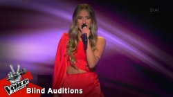 Λία Μίχου - Η μπόσα νόβα του Ησαΐα | 11o Blind Audition | The Voice of Greece