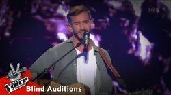 Άγγελος Μουστάκας - Μ΄ Ένα Σου Βλέμμα | 8o Blind Audition | The Voice of Greece