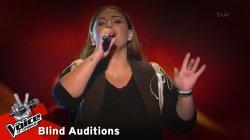 Μαρία Νεανίδου - Λέι λιμ λέι | 10o Blind Audition | The Voice of Greece