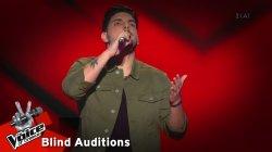 Πάνος Παπανικολάου - Αν μου τηλεφωνούσες | 12o Blind Audition | The Voice of Greece