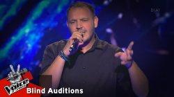 Σταύρος Πηλιχός - Ως κι οι θάλασσες | 10o Blind Audition | The Voice of Greece