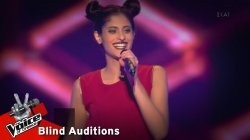 Μαρίνα Σαββίδου - Bad Things | 12o Blind Audition | The Voice of Greece