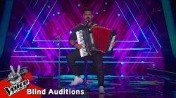 Μαρσελίνο Σερίφι - Γιατί | 8o Blind Audition | The Voice of Greece