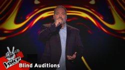 Αντώνης Τιτάκης - Ο Αυγερινός | 12o Blind Audition | The Voice of Greece
