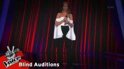 Κωνσταντίνα Τούνη - Το αρχοντόπουλο | 8o Blind Audition | The Voice of Greece