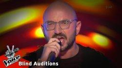 Φώτης Τσέρκας - You give love a bad name | 9o Blind Audition | The Voice of Greece