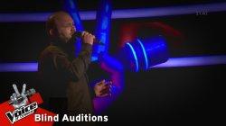 Μιχάλης Βασιλείου - Βραδιάζει | 8o Blind Audition | The Voice of Greece