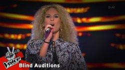 Κωνσταντίνα Βλάση - Dirty Diana | 9o Blind Audition | The Voice of Greece