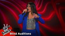 Αλεξία Χιώτη - Χίλιες βραδιές | 9o Blind Audition | The Voice of Greece