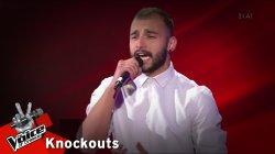 Αντώνης Αγγελόπουλος - Φοβάμαι | 1o Knockout | The Voice of Greece