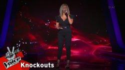 Ευγενία Λιακοπούλου - Έτσι ξαφνικά | 2o Knockout | The Voice of Greece