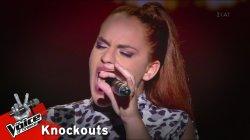 Κατερίνα Μαντζιάρογλου - Στερεότυπα | 1o Knockout | The Voice of Greece
