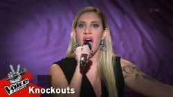 Ειρήνη Μιχαήλ - Με τσιγάρα βαριά | 2o Knockout | The Voice of Greece