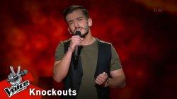 Άγγελος Μουστάκας - Έτσι αγαπάω εγώ | 3o Knockout | The Voice of Greece