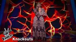 Μαρία Νεανίδου - Ράγισα | 2o Knockout | The Voice of Greece