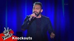Νίκος Νικολαΐδης - Δώσ' μου τ' αθάνατο νερό | 2o Knockout | The Voice of Greece