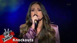 Άννα Μαρία Ντεληγιώργη - Μίσησέ με | 3o Knockout | The Voice of Greece