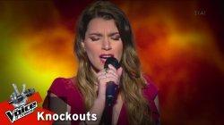 Χαριτίνη Πανοπούλου - Να'χα δύο ζωές | 1o Knockout | The Voice of Greece