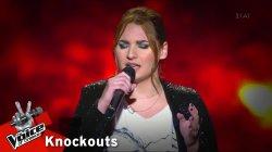 Ματίνα Πάντζαλη - Θυμός | 1o Knockout | The Voice of Greece