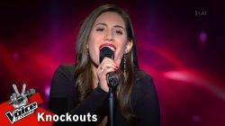 Μαρία Παπαντωνάκη - My funny Valentine | 3o Knockout | The Voice of Greece